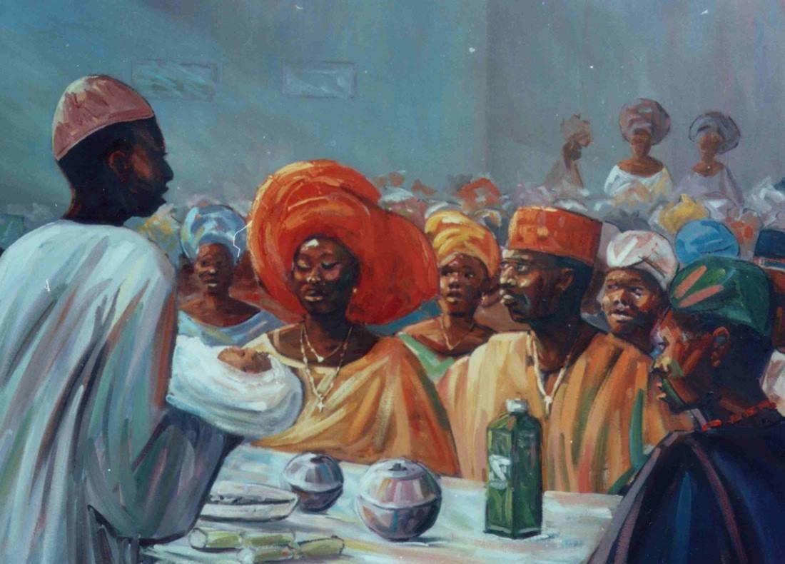 Images of yoruba naming ceremony
